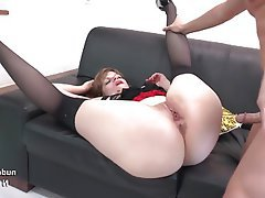 Amateur, Big Butts, French, Anal, Threesome