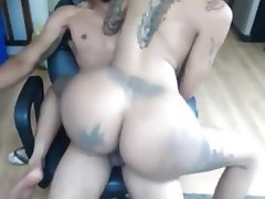 Amateur, Big Butts, Creampie, Big Ass, Anal
