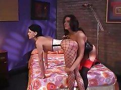 BDSM, Big Boobs, High Heels, Lesbian, Lingerie