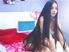 Amateur, Brunette, Webcam
