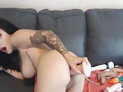 Webcam, Anal, Masturbation, Big Boobs
