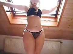 Blonde, Small Tits, Big Ass