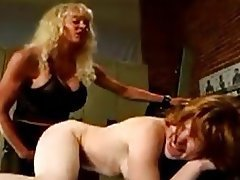 BDSM, Femdom, Lesbian, Old and Young, Strapon