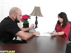 Babe, Big Ass, Blowjob, Casting, Cumshot
