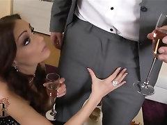 Anal, Babe, Blowjob, Cumshot, Stockings
