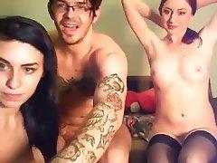 Amateur, Babe, Group Sex, Threesome, Webcam