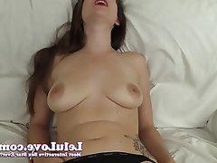 Amateur, Brunette, Close Up, Masturbation, POV